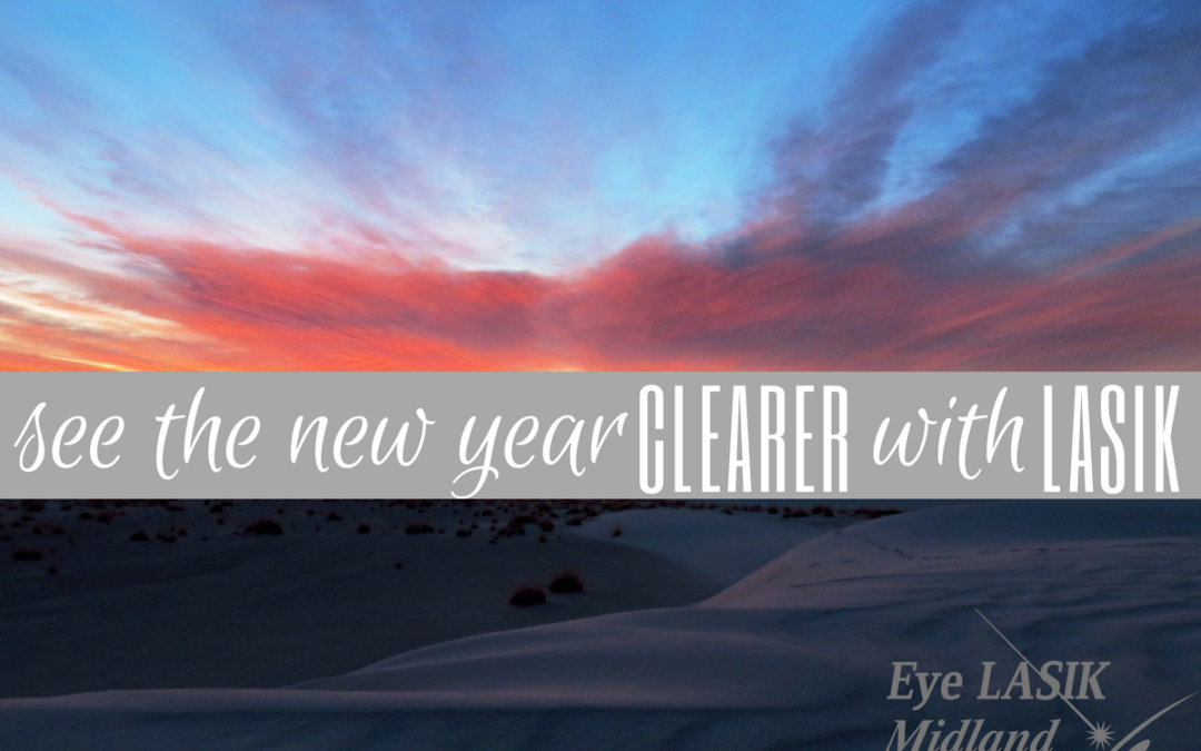 See the New Year Clearer with LASIK